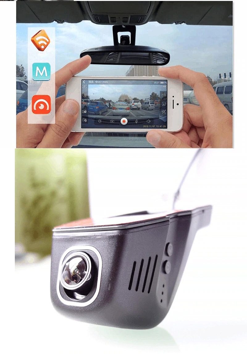 junsun s100 wifi 1080p car dvr camera for sale