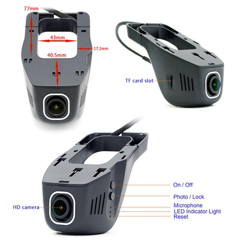 junsun s100 wifi car dvr camera for sale