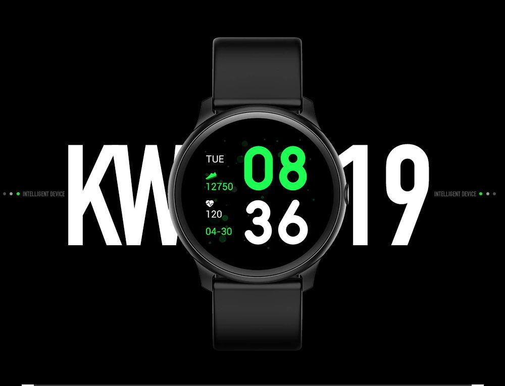 kingwear kw19 smartwatch