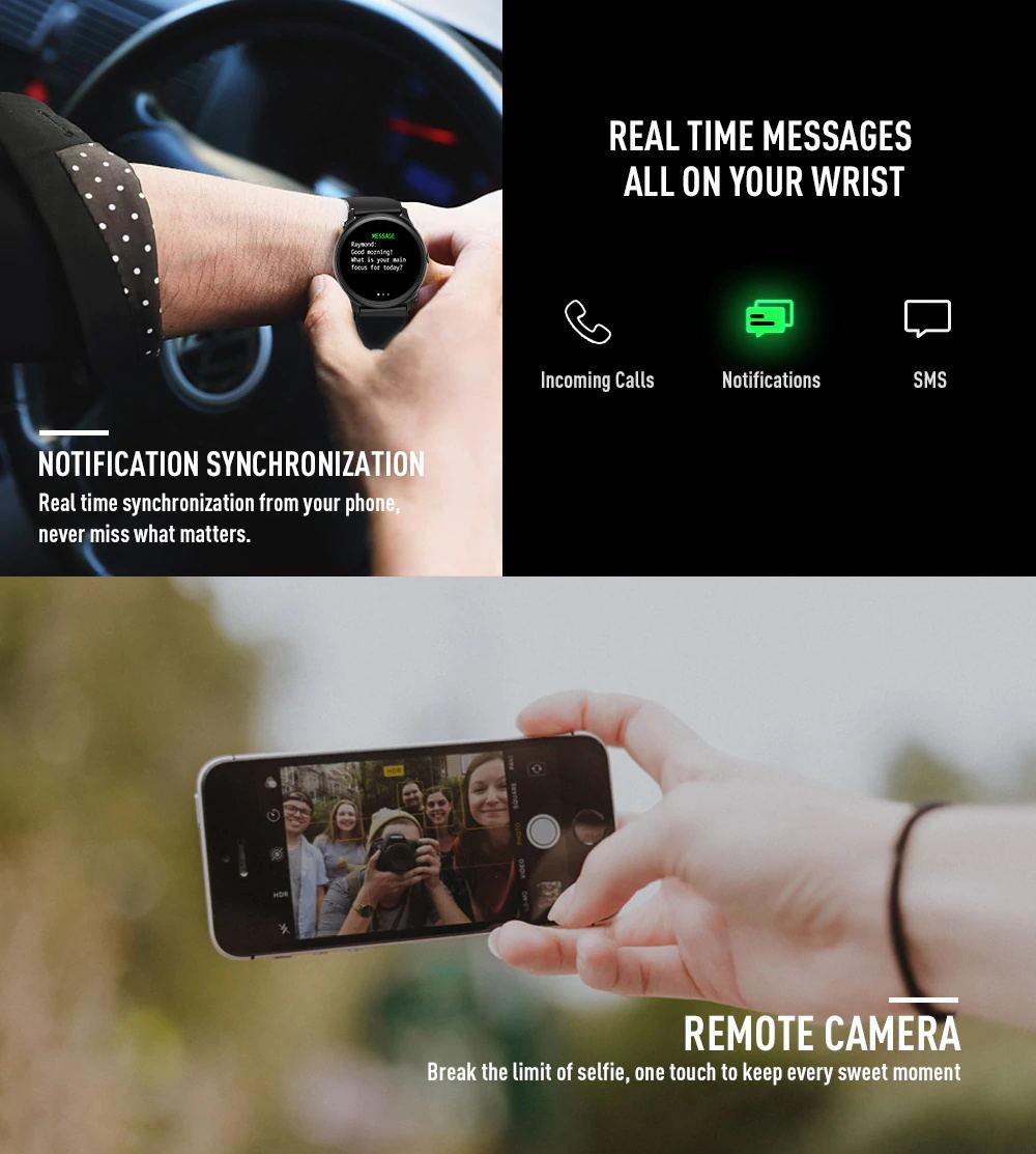 kingwear kw19 smartwatch review
