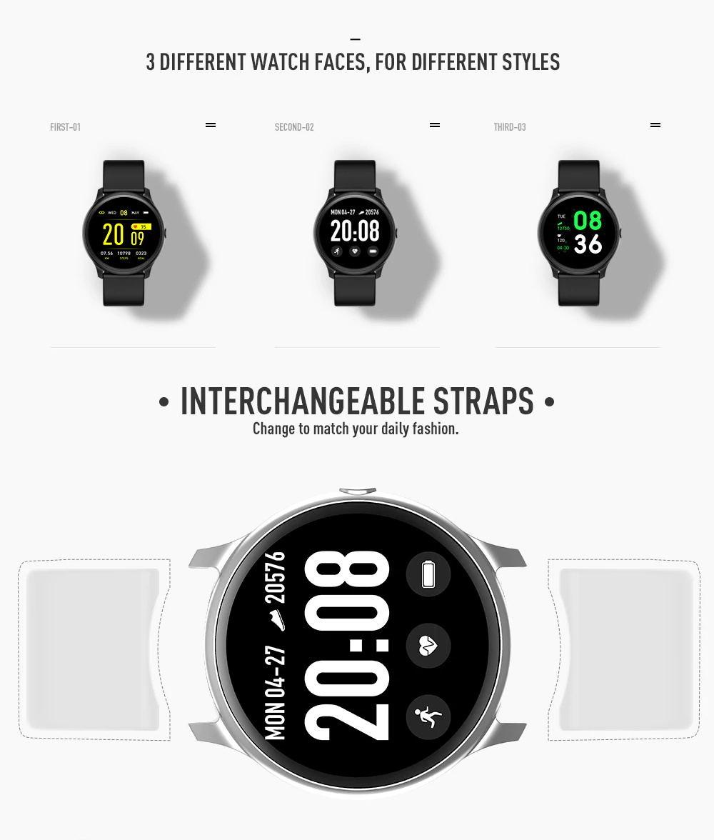 kingwear kw19 smartwatch for sale