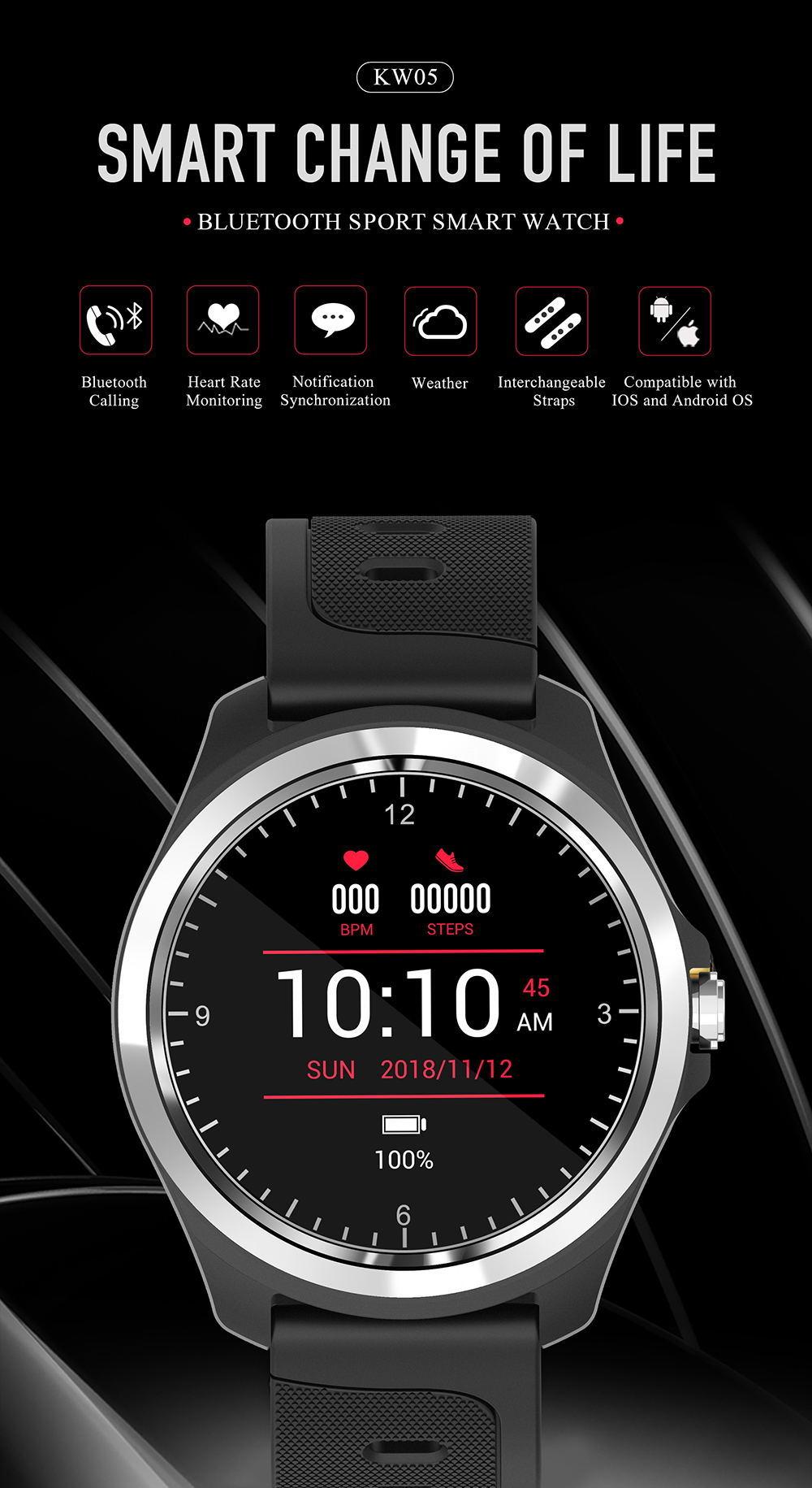 kingwear kw05 smartwatch