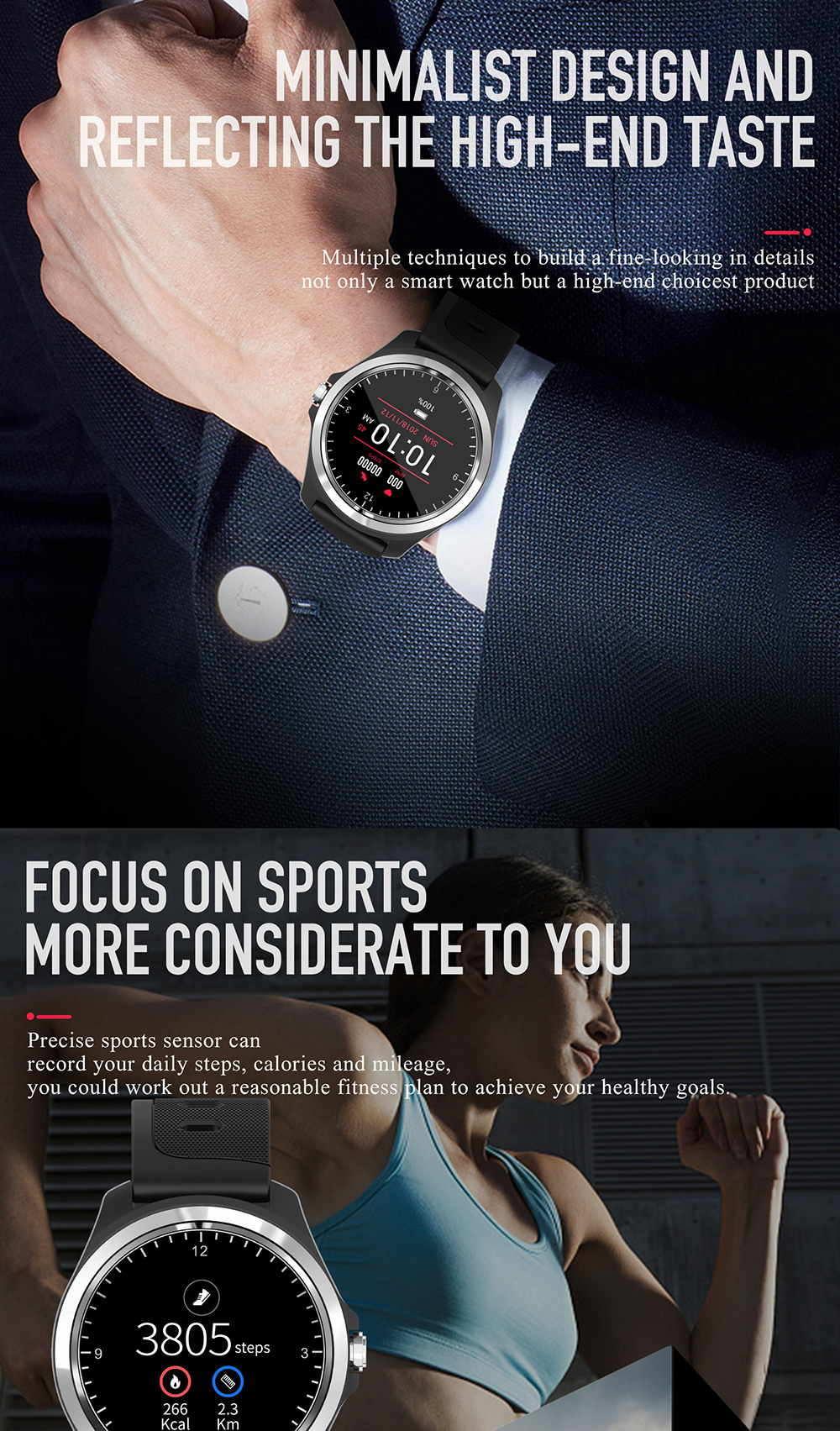 new kingwear kw05 smartwatch