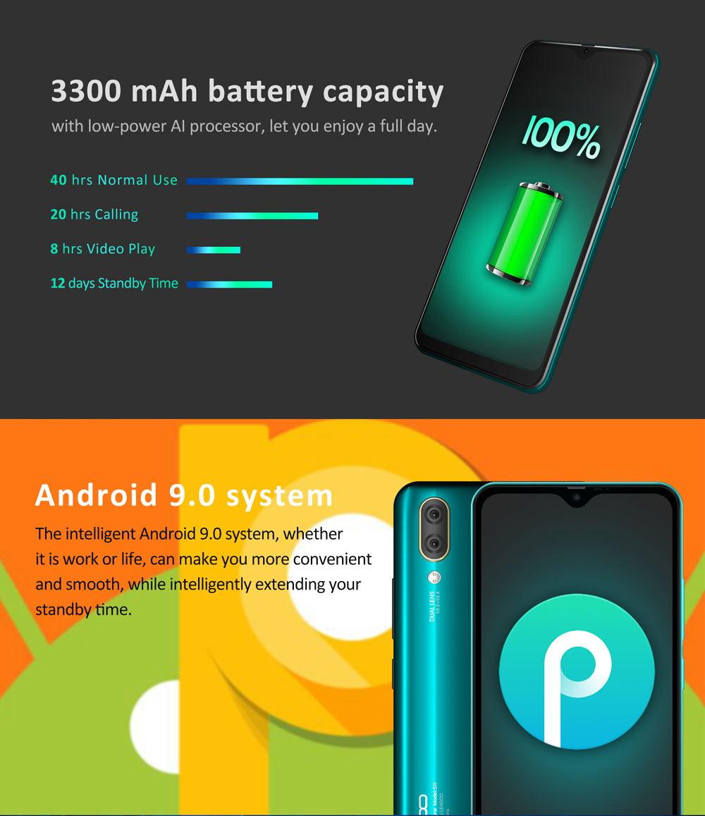 leagoo s11 4g smartphone 4gb 64gb global version 2019
