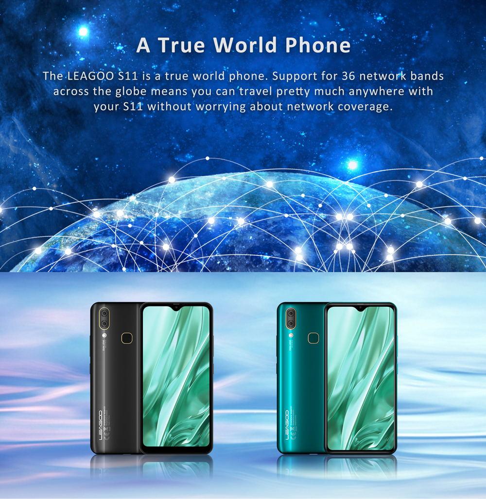 leagoo s11 4g smartphone 4gb 64gb global version for sale