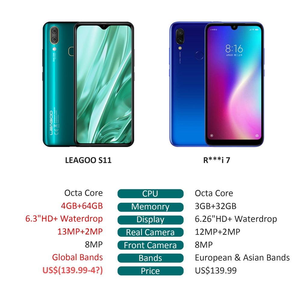 buy leagoo s11 4g smartphone global version