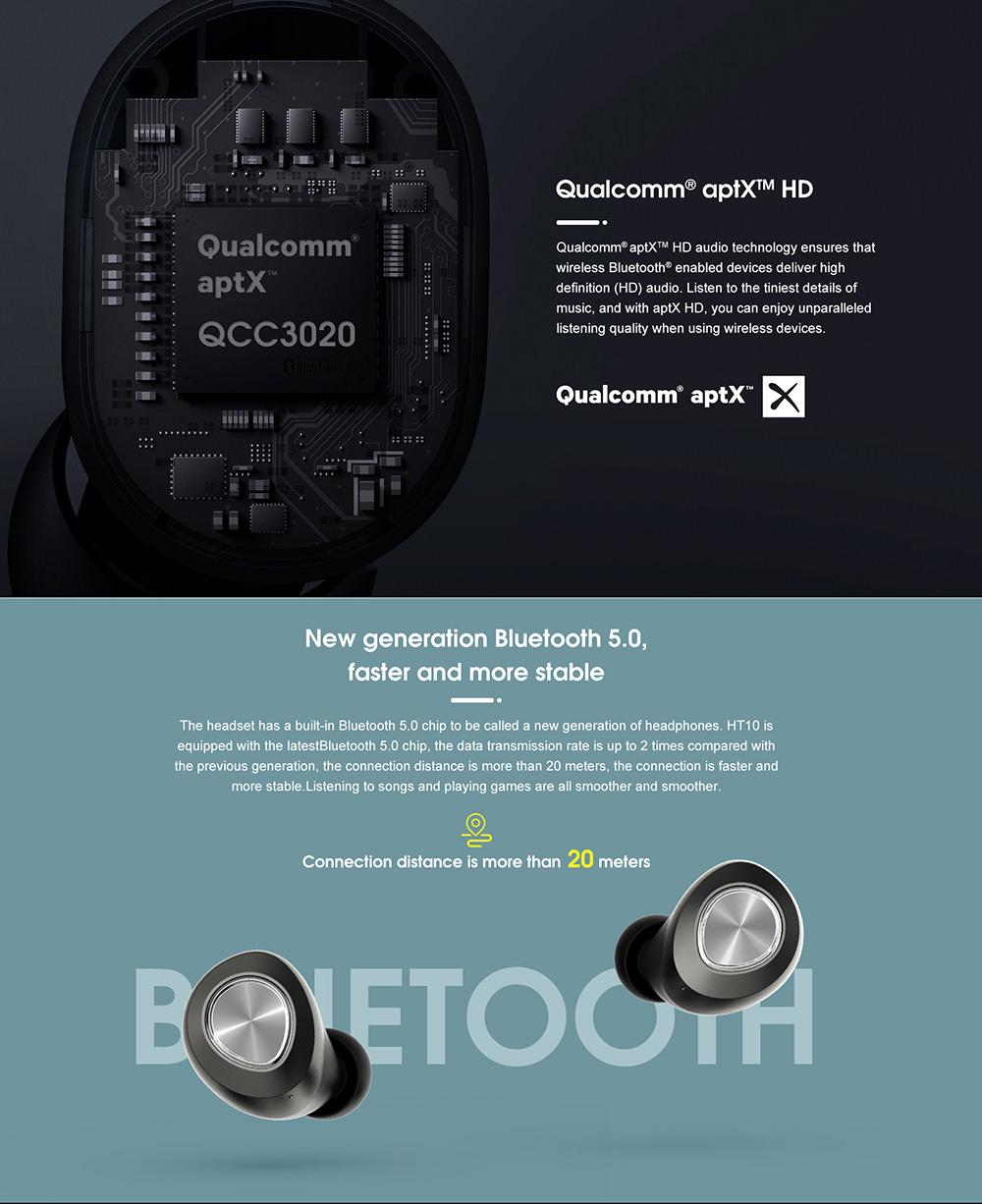 new lenovo ht10 tws earphone