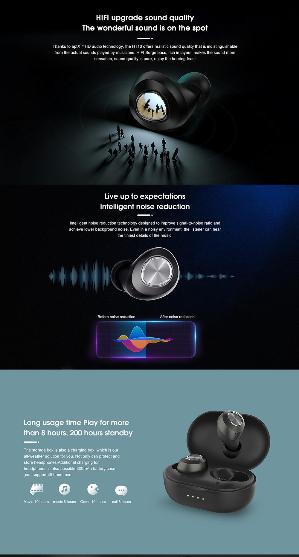 buy lenovo ht10 tws earphone