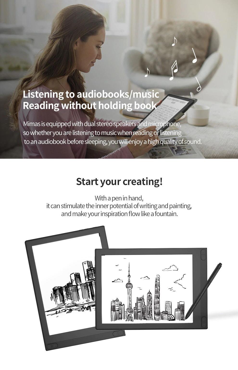 hotsale boyue likebook mimas t103d ebook reader