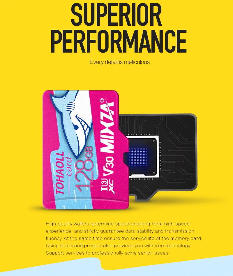 mixza micro sd memory card for sale