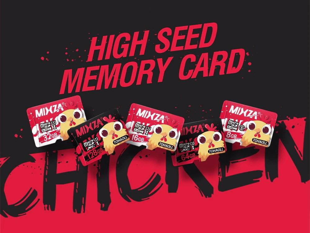 mixza tohaoll uhs-1 64gb memory card