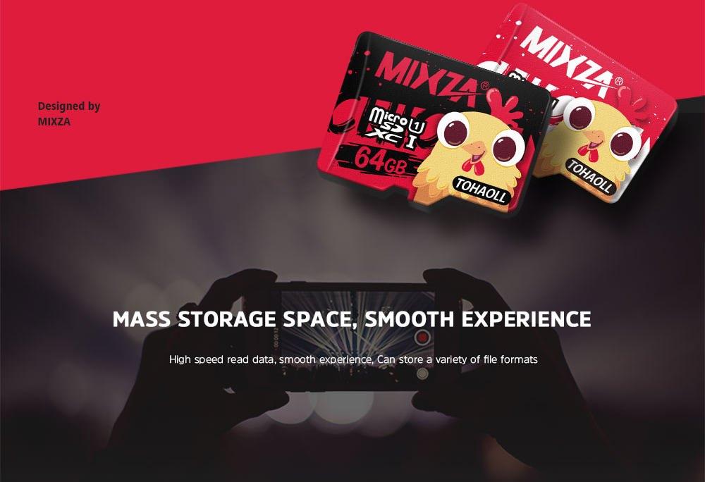 buy mixza tohaoll uhs-1 64gb memory card