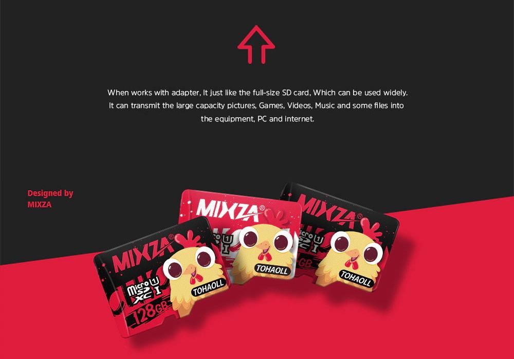 hotsale mixza tohaoll uhs-1 64gb memory card