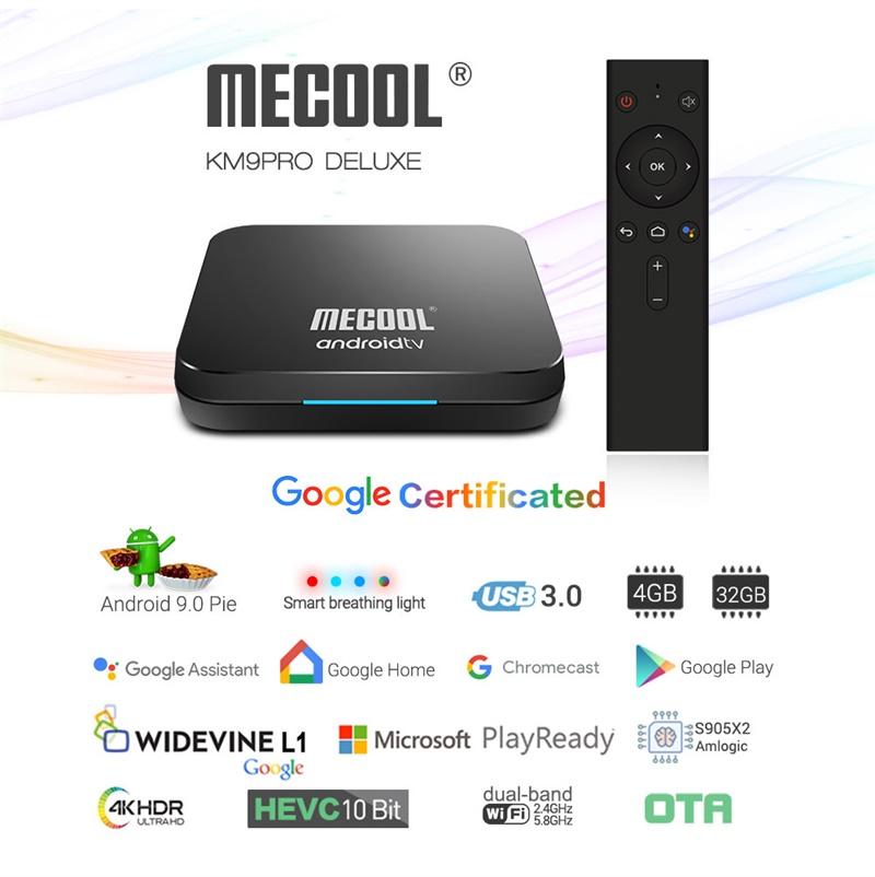 mecool km9 pro 4gb 32gb tv box