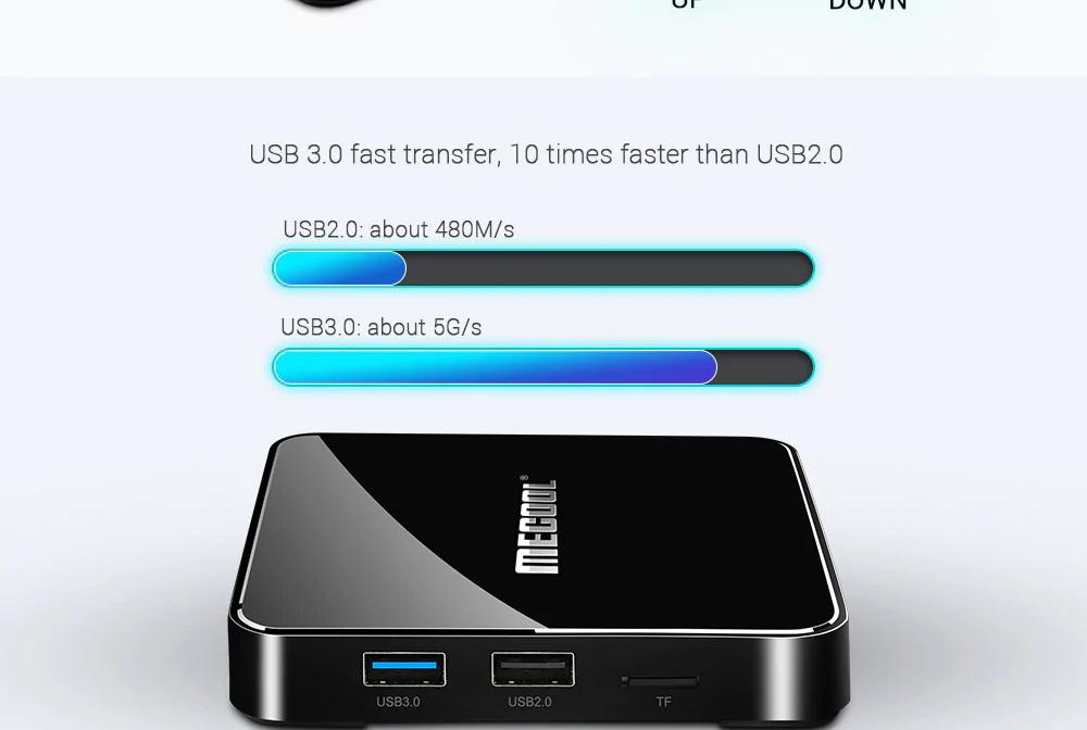 review mecool km3 128gb tv box