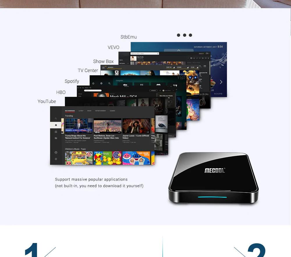 new mecool km3 128gb tv box