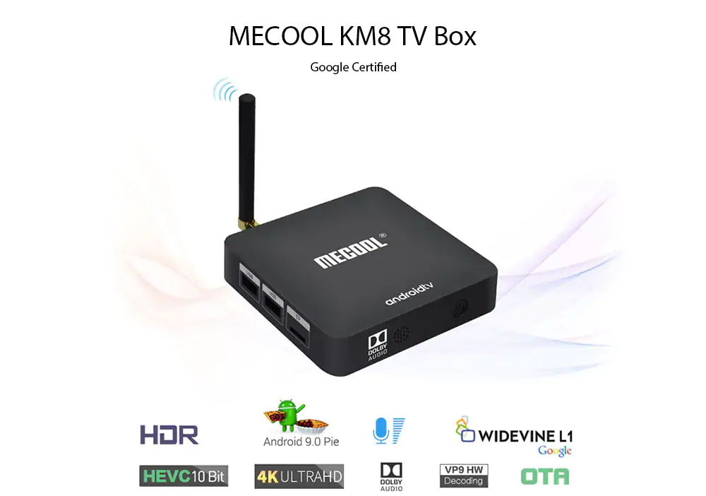 mecool km8 2gb 16gb tv box