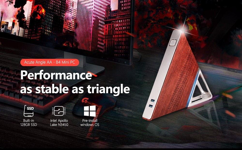 Acute Angle AA-B4 mini PC - rendimiento tan estable como triángulo Mini-pc-1