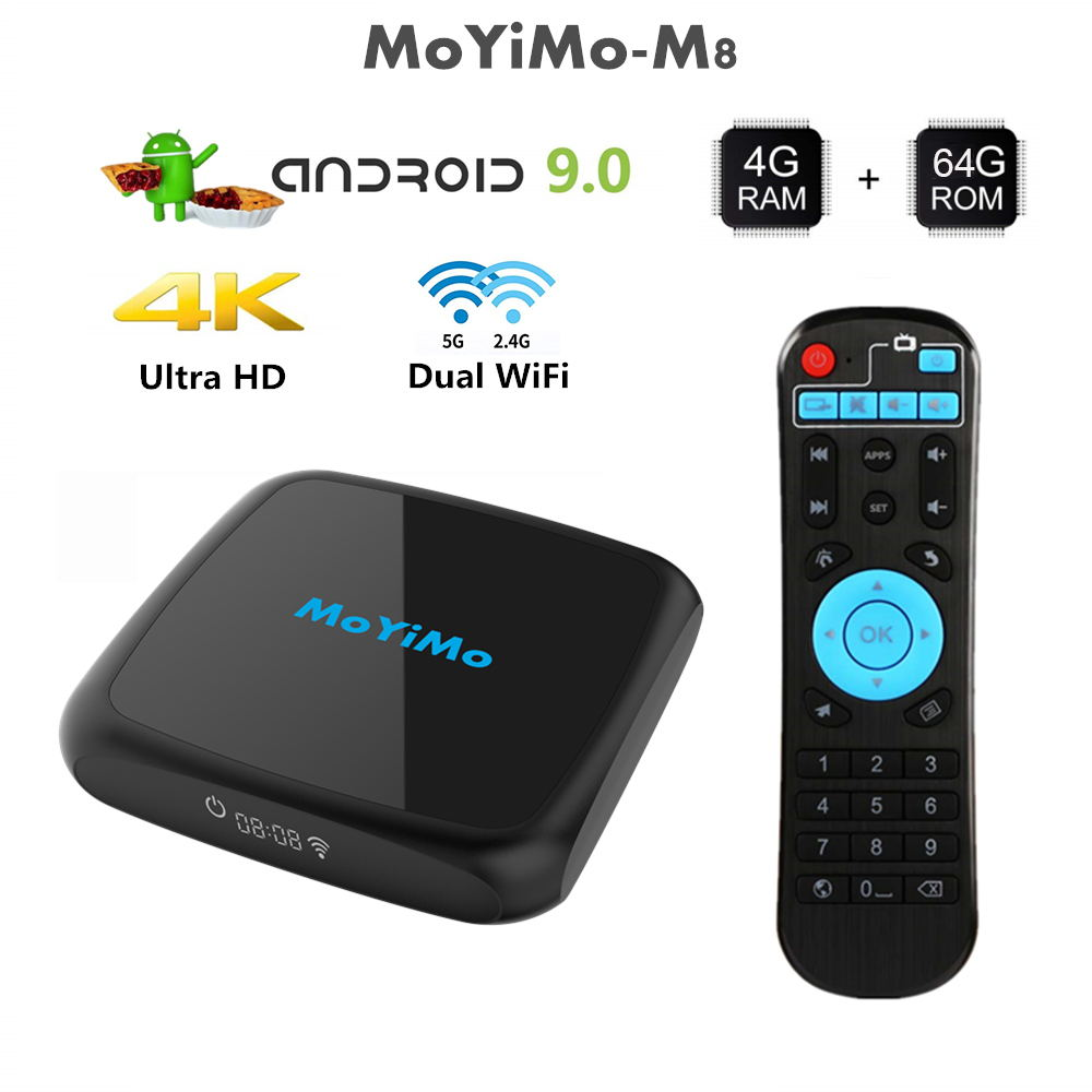 moyimo m8 tv box 4gb/64gb