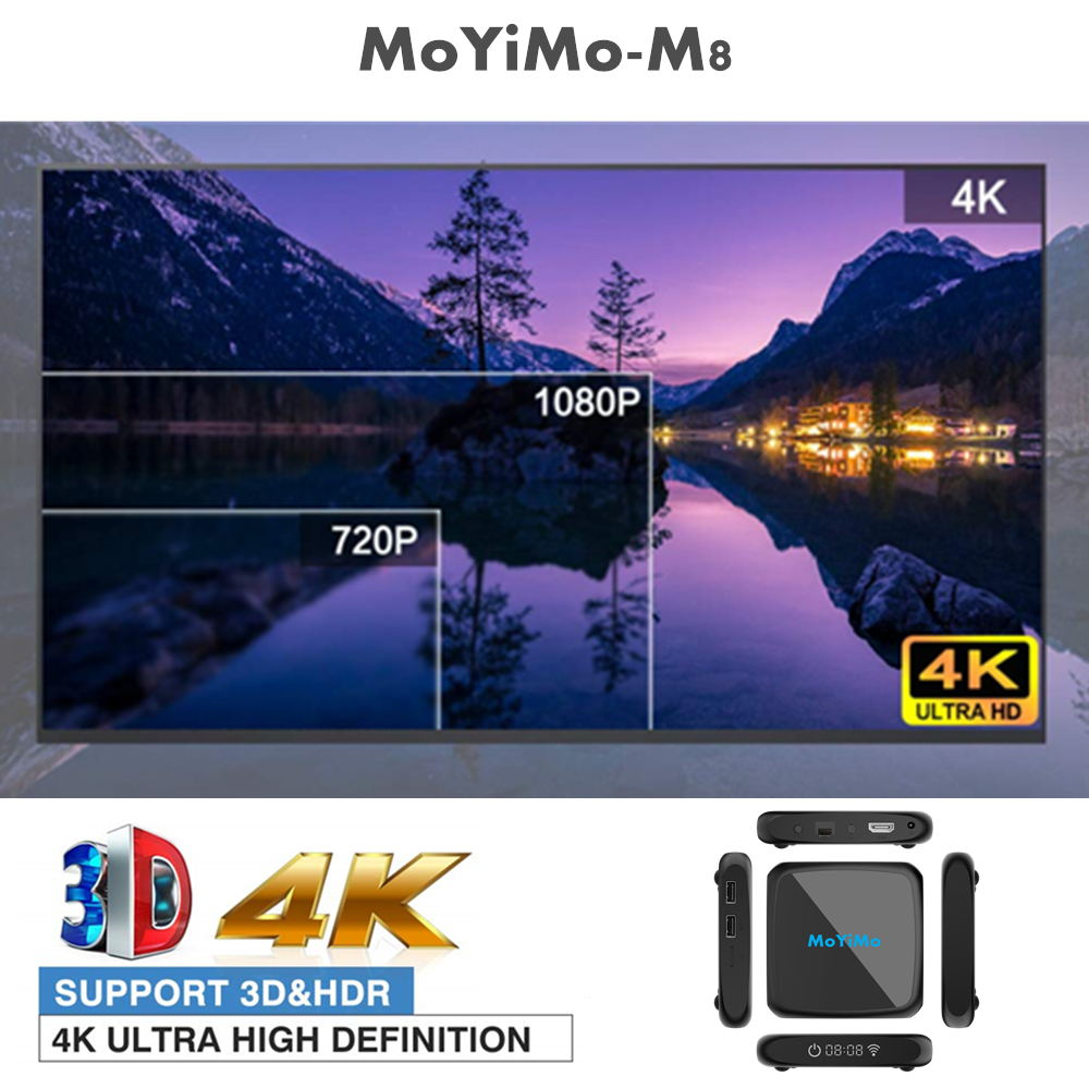new moyimo m8 tv box 4gb/64gb