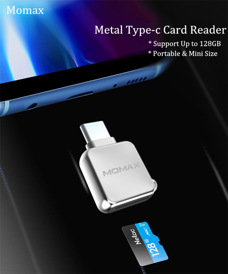 momax type-c card reader