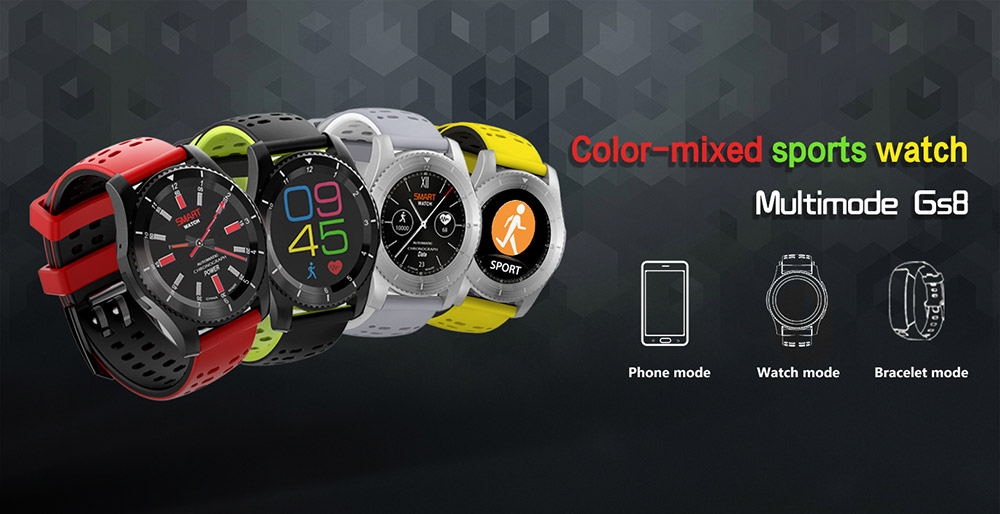 no.1 gs8 2g smartwatch