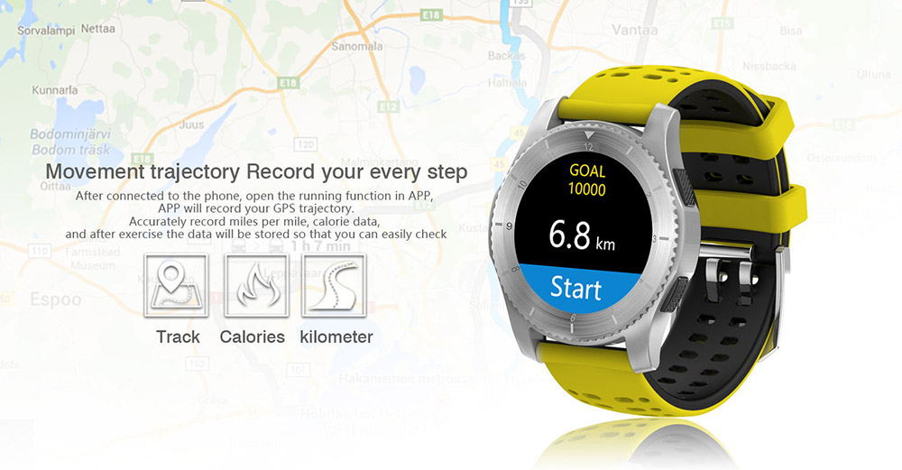 new no.1 gs8 2g smartwatch