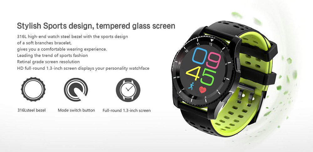 buy no.1 gs8 2g smartwatch phone