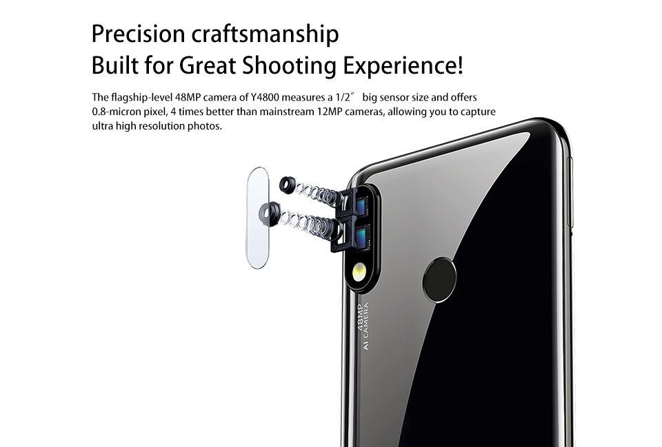 buy oukitel y4800 smartphone