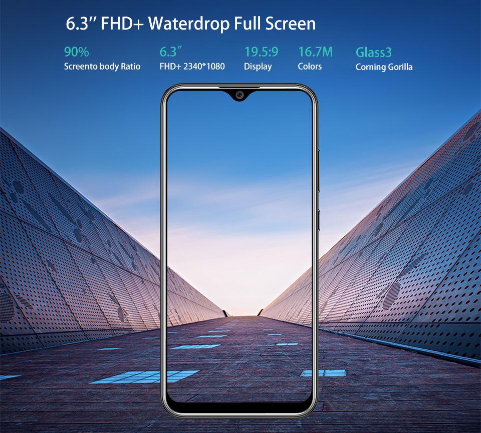 2019 oukitel y4800 smartphone