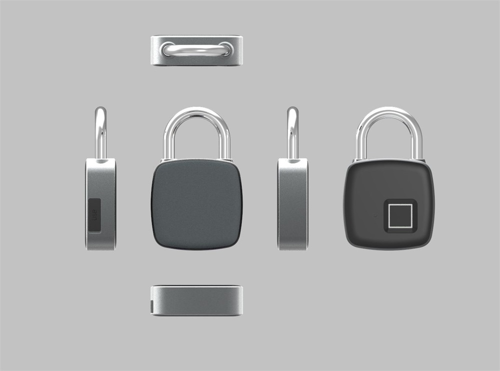 p3 fingerprint padlock