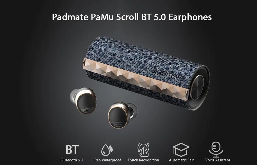 padmate pamu scroll earphones