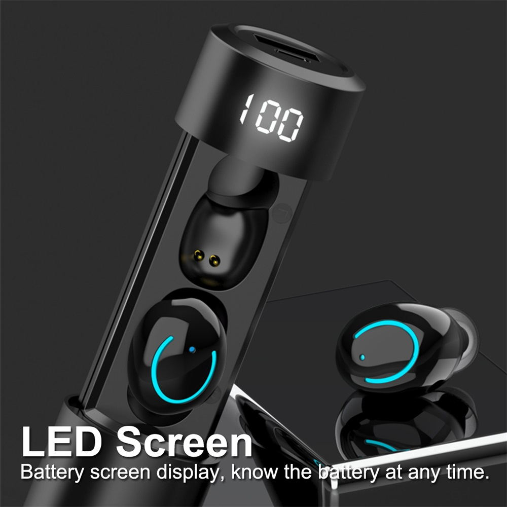 best q19 tws bluetooth earphones