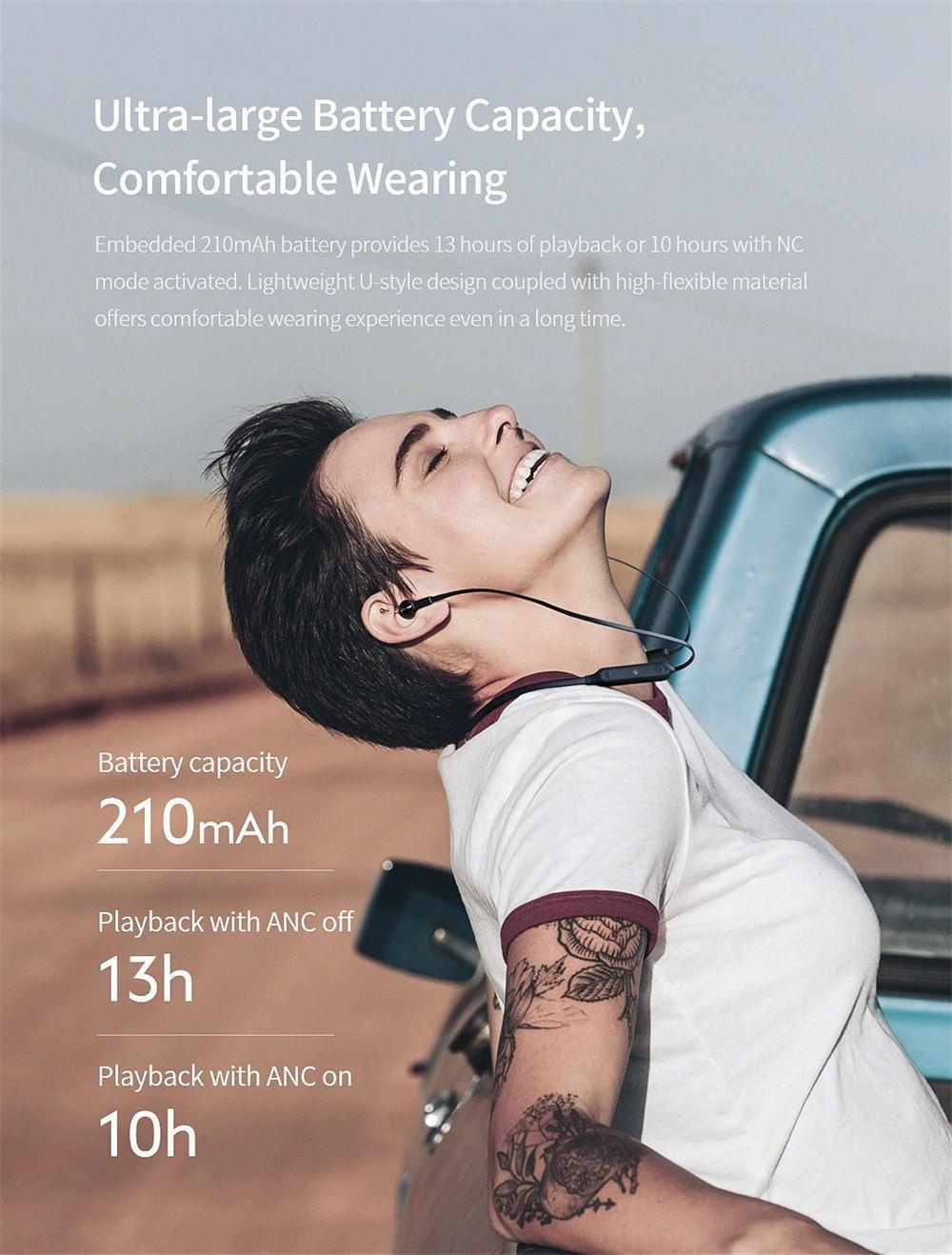 new qcy l2 wireless earphones