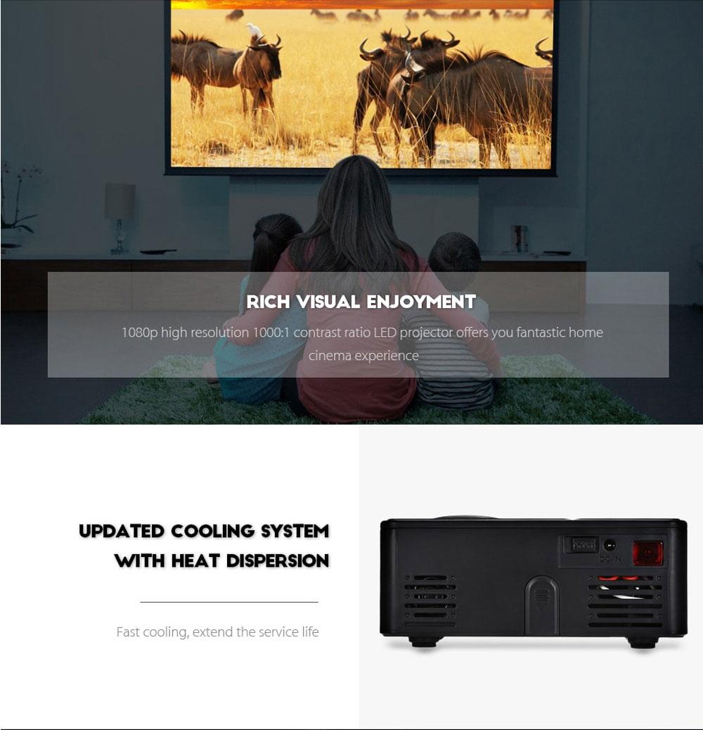 buy rigal rd-814 mini projector