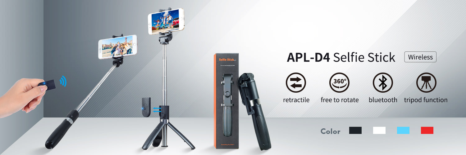apexel 3 in 1 selfie stick