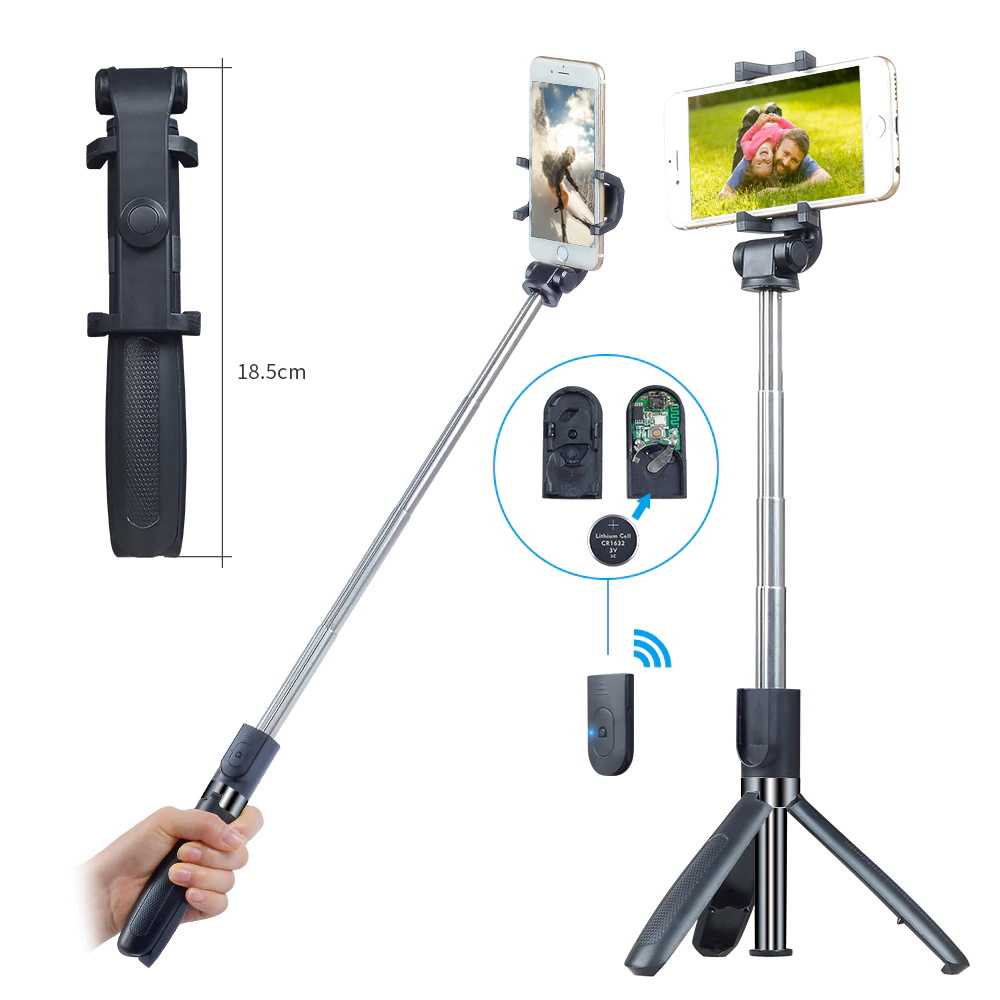 new apexel 3 in 1 selfie stick
