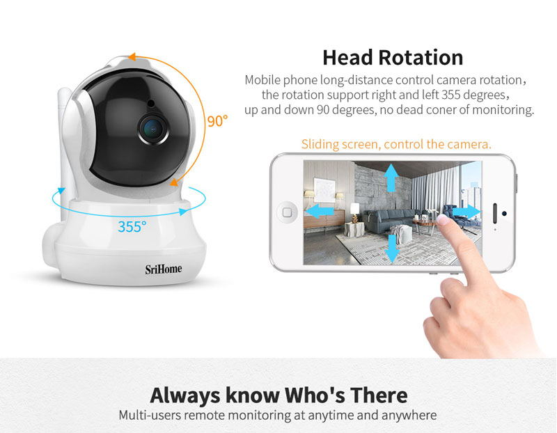 new sricam sh020 wifi 1080p ip camera