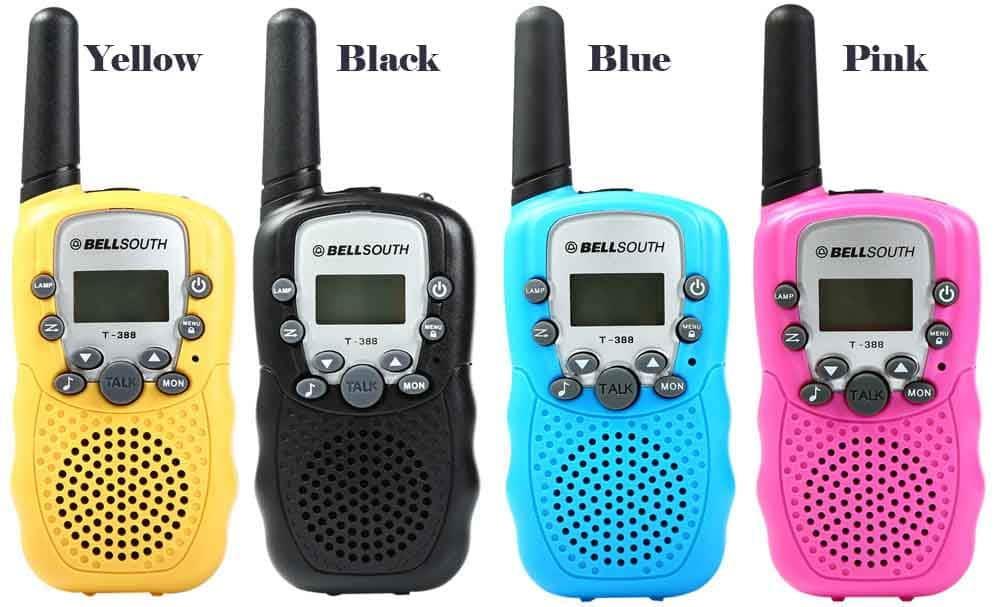 2019 bellsouth t-388 2pcs walkie talkie