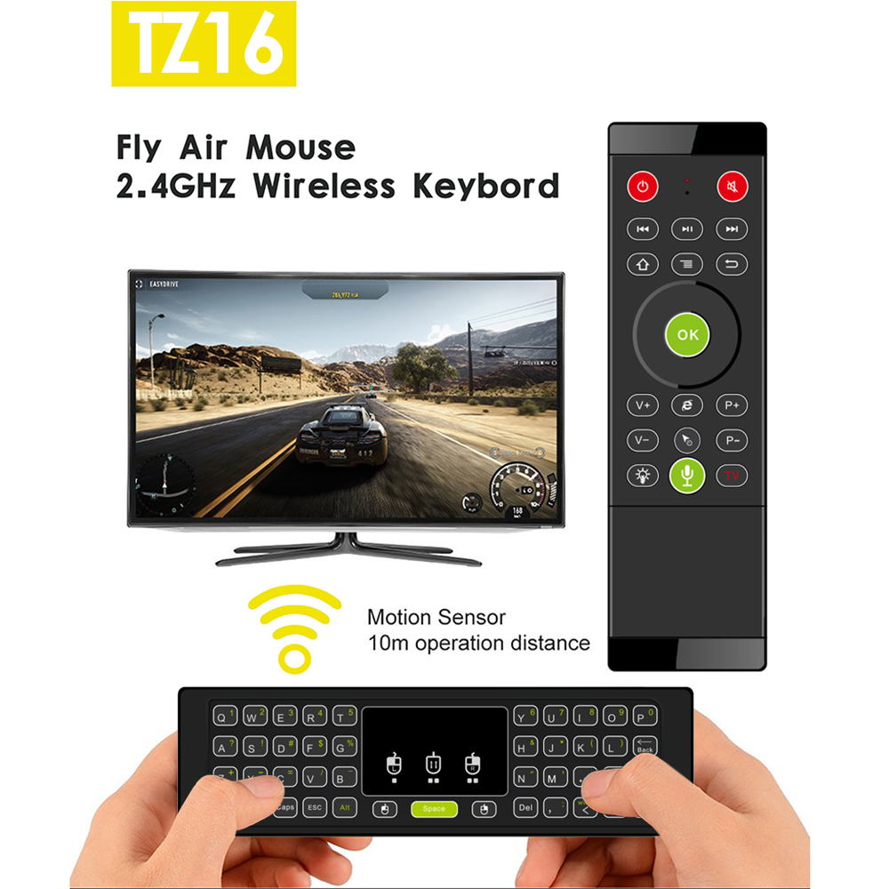 tz16 wifi air mouse keyboard