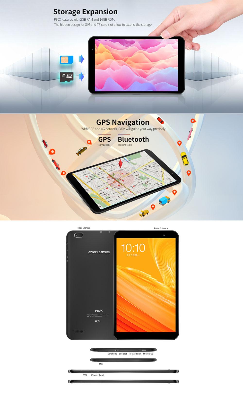 2019 teclast p80x tablet