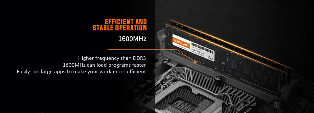 new teclast s10 memory module ddr3 1600mhz