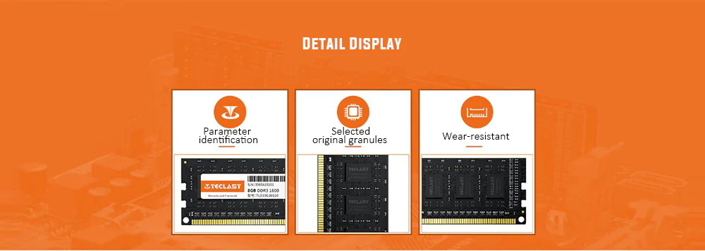 teclast s10 memory module ddr3 1600mhz 4gb