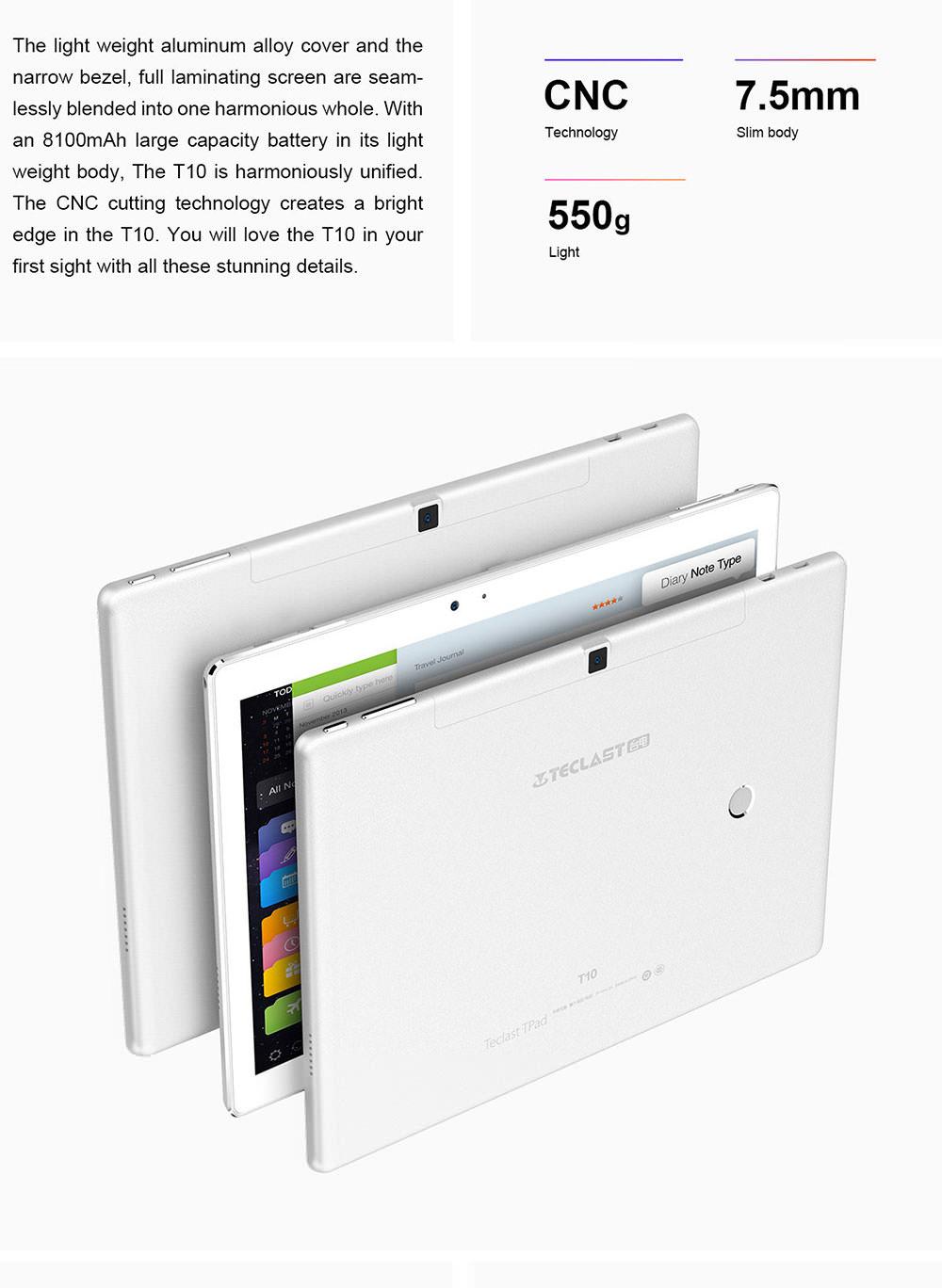 2019 teclast t10 tablet pc 64gb