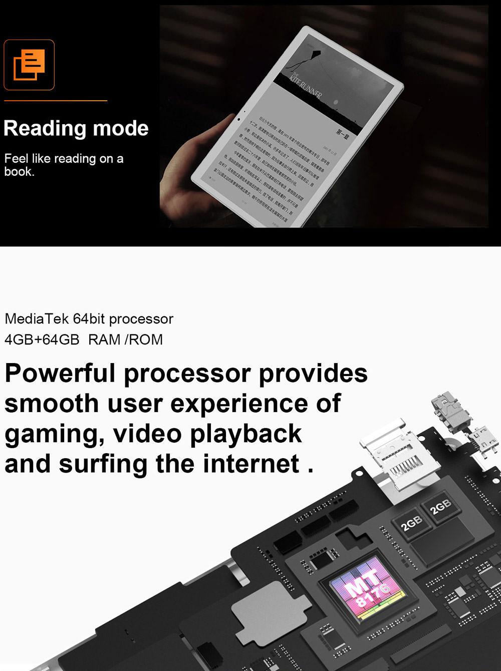 teclast t10 tablet pc 4gb 64gb 2019