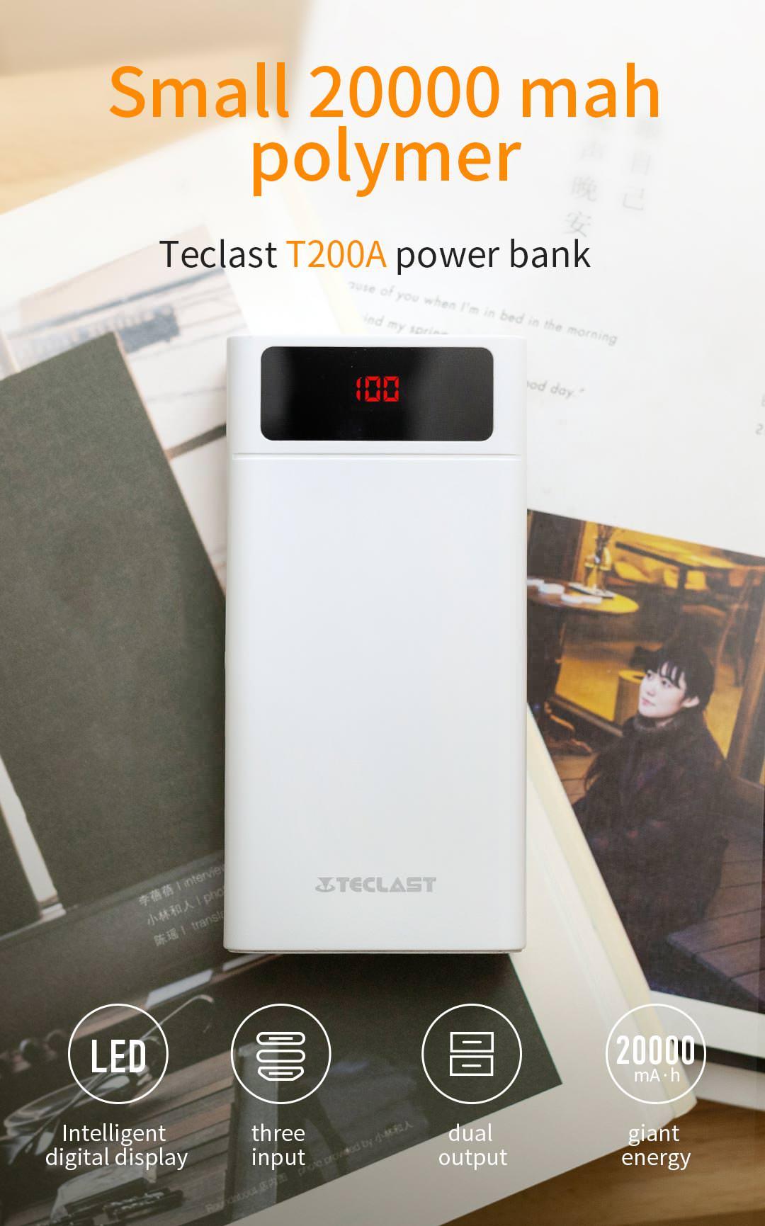 teclast t200a power bank