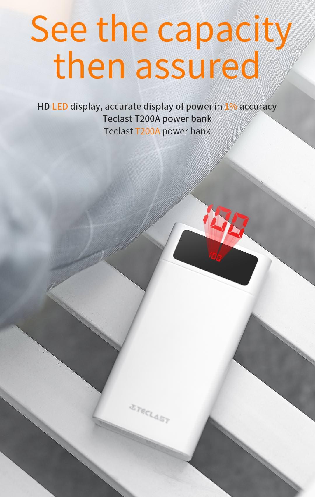 new teclast t200a power bank