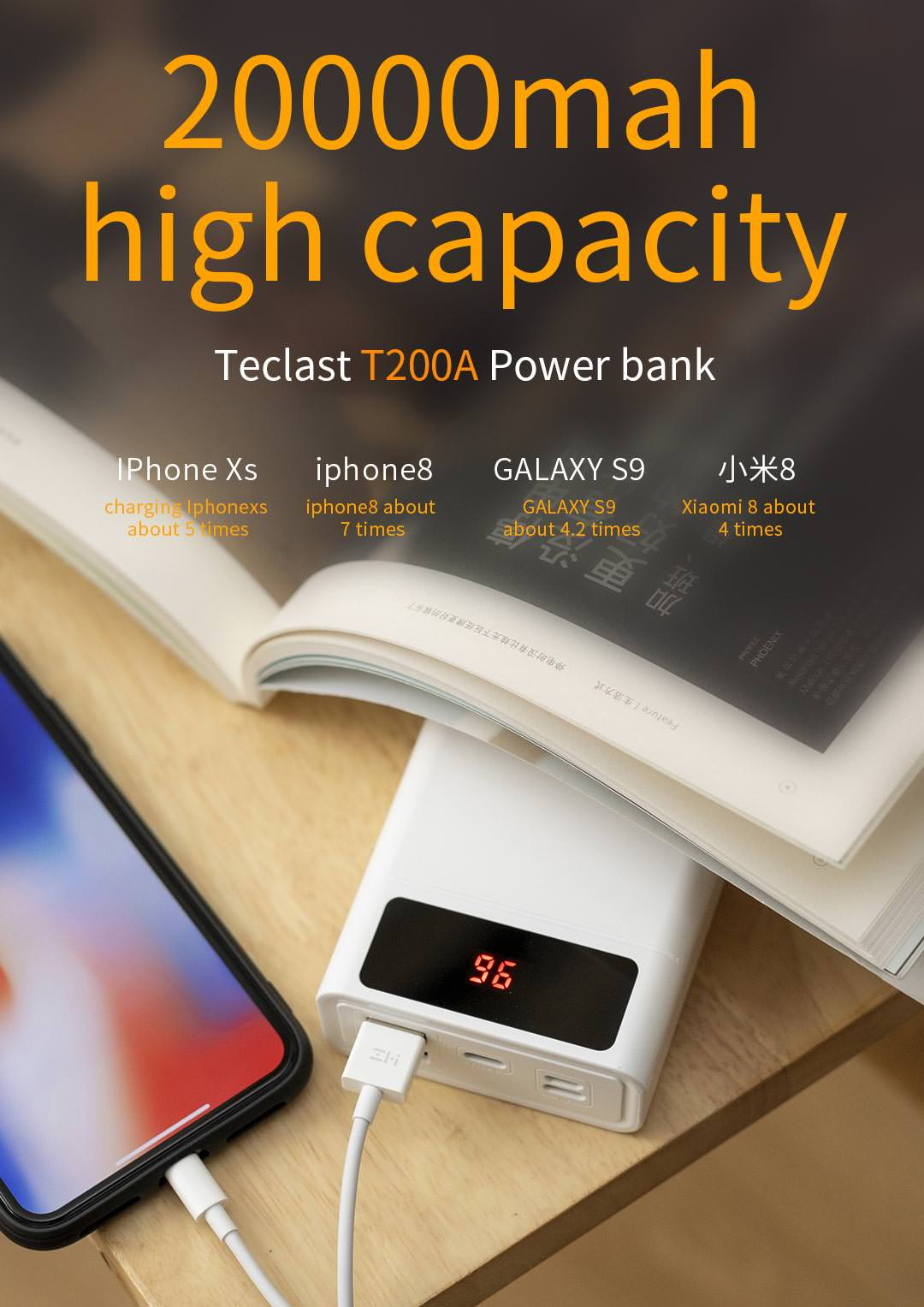 teclast t200a power bank price