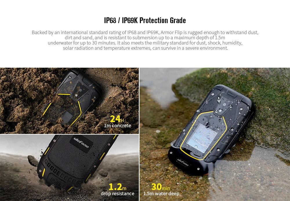 buy ulefone armor flip 2g phone