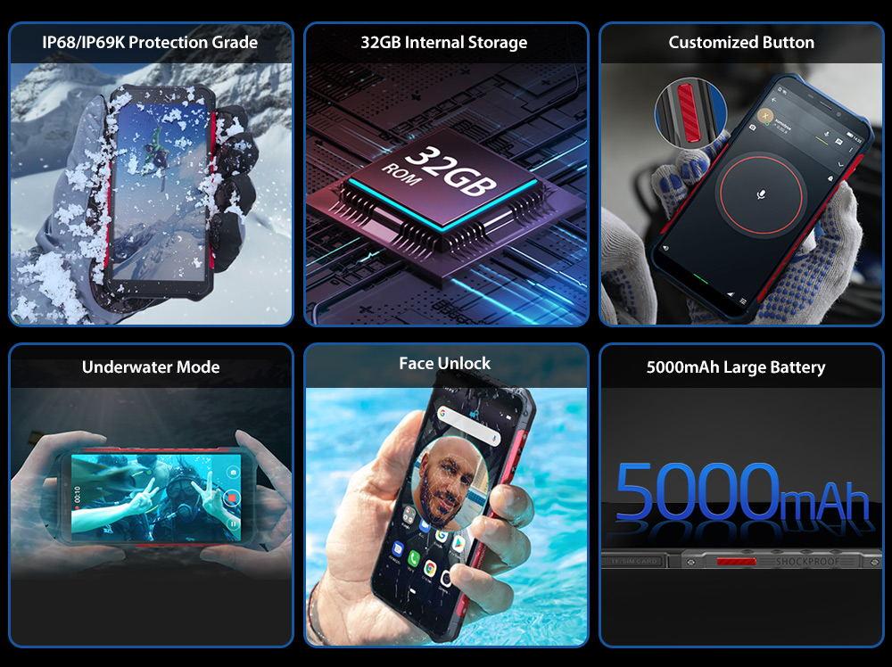 ulefone armor x3 3g smartphone
